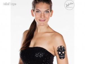 Lace Tattoo halálfejes