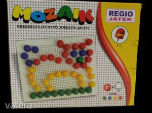 Mozaik készségfejlesztő játék