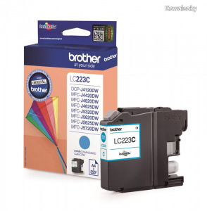 Brother LC-223C Cyan LC223C