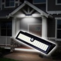 Napelemes és mozgásérzékelős LEDes kültéri lámpa