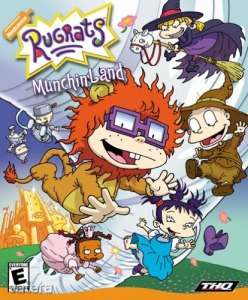 PC  Játék Rugrats Munchin Land