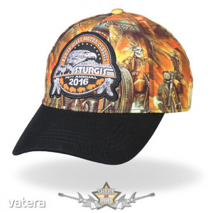 Indian Storm Ball Cap - Official 2016 Sturgis Motorcycle Rally #1 Design . USA. baseball sapka