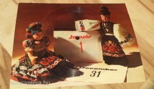 Colorvox 45 hangos képeslap hanglemez, szilveszteri üdvözlőlap