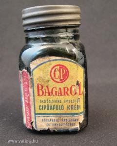 Bagarolos üveg - cipőápoló krém