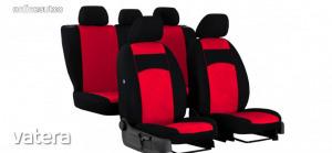 Univerzális Üléshuzat Tuning velúr piros színben