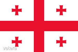 Nemzeti lobogó ország zászló nagy méretű 90x150cm - Grúzia, grúz