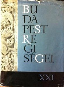Tarjányi S. (szerk.): Budapest régiségei XXI.