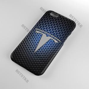 Tesla mintás Samsung Galaxy A6 Plus A6+ tok hátlap tartó