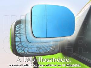 Citroen C3 2010-2013 - Tükörlap felragasztható jobb, króm