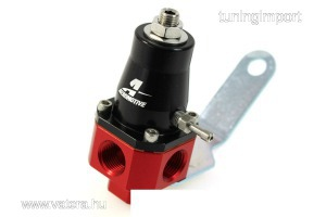 üzemanyagnyomás szabályzó Aeromotive 1000HP 0.2-4 Bar 3/8 NPT Piros/fekete