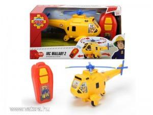 Dickie IRC Sam, a tűzoltó - Wallaby 2 távirányítós helikopter (3093004)