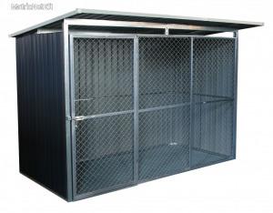 G21 KEN 572 kutyaketrec - 260 x 220 cm, szürke 63900592
