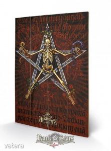 Alchemy - Alchantagram. 40x59.cm plakát fatáblán