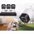 4 kamerás kül- és beltéri AHD kamerarendszer