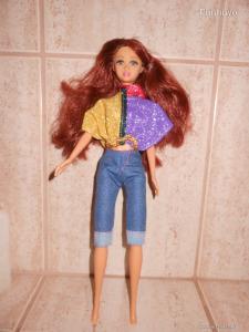 Szép vörös hajú Barbie baba Újszerű!