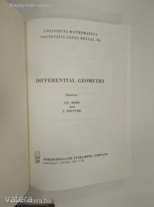 Gy. Soós - J. Szenthe: Differential Geometry (*83)
