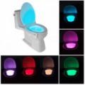 Bowl Light mozgásérzékelő LED WC- és fürdőszobai világítás 8 szín