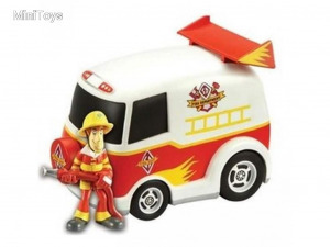 Scooby Doo: Tűzoltóautó + Bozont figura