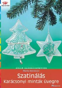Szatinálás - Karácsonyi motívumok üvegre