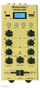 OMNITRONIC - GNOME-202P Mini Mixer gold