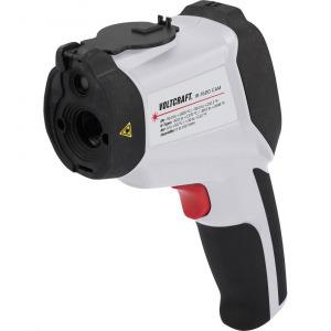 Infra hőmérő, távhőmérő, levegő páramérő beépített, hőkamerával 50:1 optika -50-től +1600 °C-ig V...