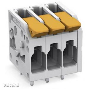 WAGO 2604-1108 Nyomtatott áramköri kapocs 4 mm? Pólusszám 8 1 db