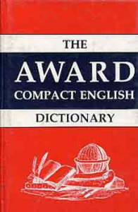 : The Award english dictionary