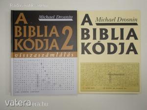 Michael Drosnin: A Biblia kódja I-II. (*85)