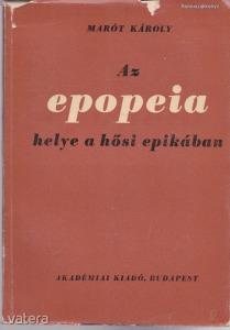 AZ EPOPEIA HELYE A HŐSI EPIKÁBAN