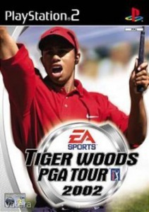 PS2  Játék Tiger Woods PGA Tour 2002