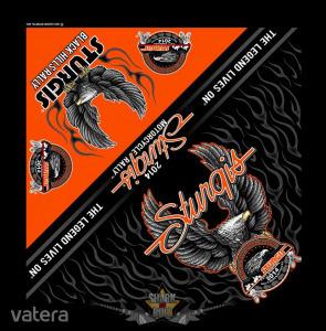 Upwing Eagle Bandana - Official 76th Sturgis Motorcycle Rally. .USA. vászon kendő