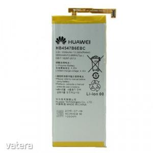 Huawei HB4547B6EBC gyári akkumulátor Li-Ion Polymer 3600mAh (Honor 6 Plus)