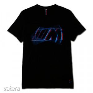 Gyári BMW M fekete S-es póló 80142454734