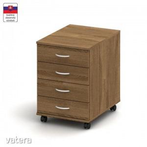 TEMPO ASISTENT NEW 015 konténer (4 fiókos görgős konténer +)