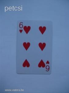 Francia kártya kör 6 kártyalap 1 FT-RÓL NMÁ!