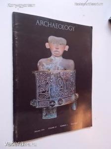 Archaeology 1974. January  (*72)
