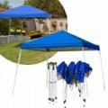 Kerti pavilon, összecsukható 3x4,5 m kék színben