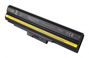 Sony BPS13 CD nélküli fekete Vaio VGN-CS11S/P VGN-CS11S/Q VGP- akkumulátor / akku - Patona Prémium