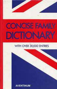 Brown Watson: Concise Family Dictionary