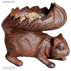 Madáretető mókus forma