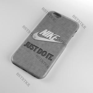 Nike mintás Huawei P-Smart  tok hátlap tartó