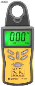 HoldPeak 881C digitális fénymérő műszer