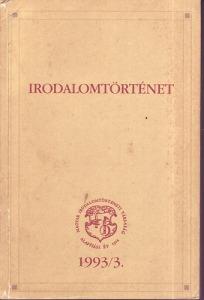 Irodalomtörténet  1993/3.