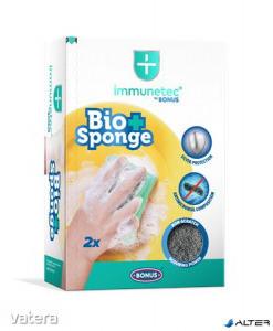 Mosogatószivacs, 2 db, BONUS Bio Sponge Immunetec