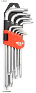 YATO 0512 Torxkulcs készlet (hosszított) 9r YT-0512