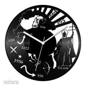Történelem tanár bakelit óra