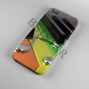 zongora mintás Samsung Galaxy A20E tok hátlap tartó