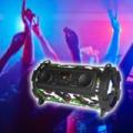 Óriás bluetooth Mp3 henger hangszóró + FM rádió, karaoke mód