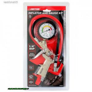 Dekton Keréknyomásmérő pisztoly 12 barDT90210