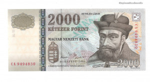 2004 2000 forint CA UNC - Ritka